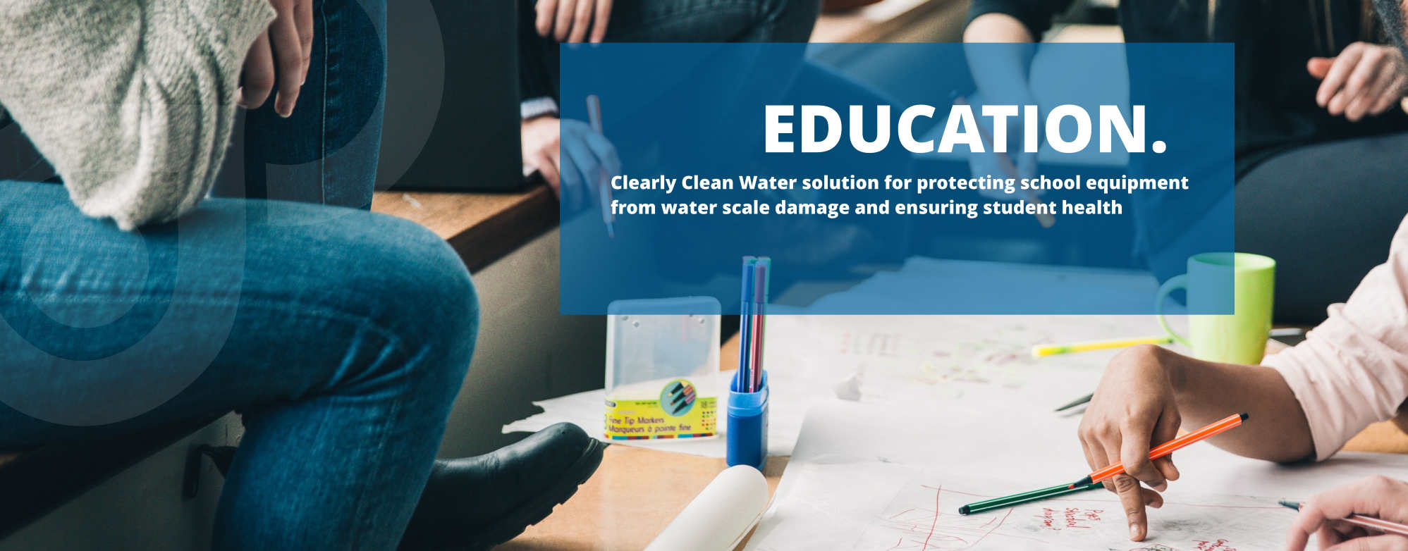 waslix water purification solution education