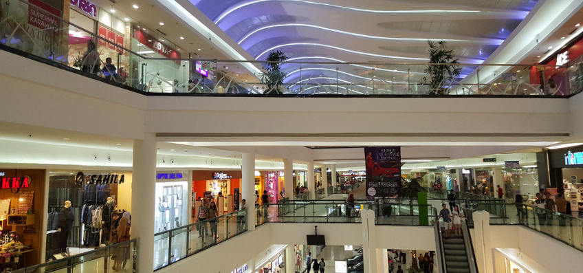 Supermal Karawaci SMK Shopping mall removes mineral scaling